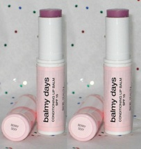 Victoria's Secret Balmy Days Conditioning Lip Balm SPF 15 in Berry Sexy - x 2 - $19.98