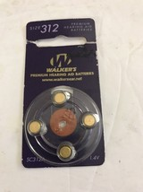 WALKER'S Hearing Aid Batteries, Size 312. Ships N 24hrs - $11.86