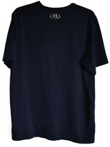 Under Armour Men's Loose HeatGear Navy Blue Short Sleeve T-Shirt Size L image 2