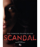 Scandal: The Complete Fourth Season (DVD, 2015, 5-Disc Set) - $19.94