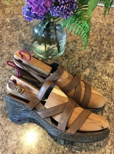 Primary image for BORN D26323 Negril Strappy Slingback Open Toe Clogs Sandals SIZE EU 42 • US 10