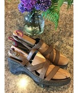 BORN D26323 Negril Strappy Slingback Open Toe Clogs Sandals SIZE EU 42 •... - $17.66