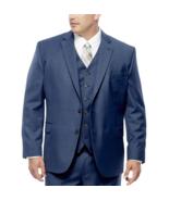 Stafford Travel Wool Blend Stretch Jacket-Portly Fit Size 56 Prtr New Mi... - $69.99
