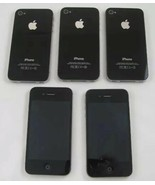 (5) Apple iPhone 4 - 16GB  -  Smartphone Excellent To use As An iPod For... - $84.10