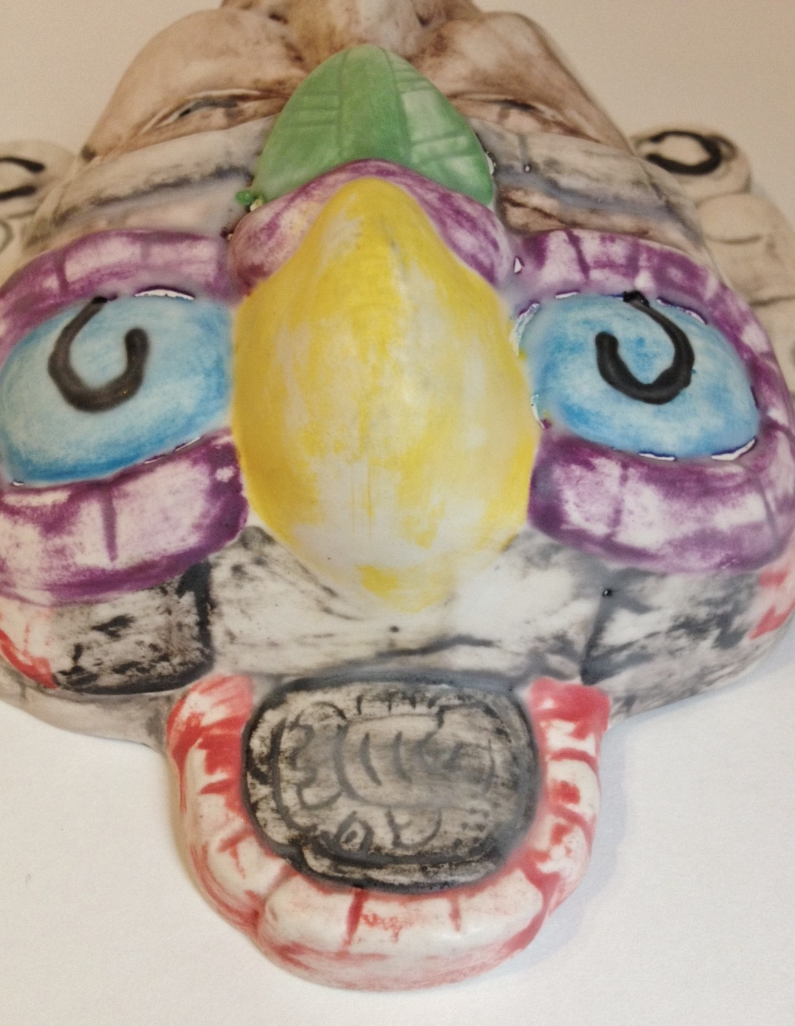 Tribal Bird Face Mask Collectible Porcelain and 50 similar items