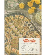 Merita Menu Magic Sandwich and Dessert Book 1956 Vintage Cookbook - $6.92