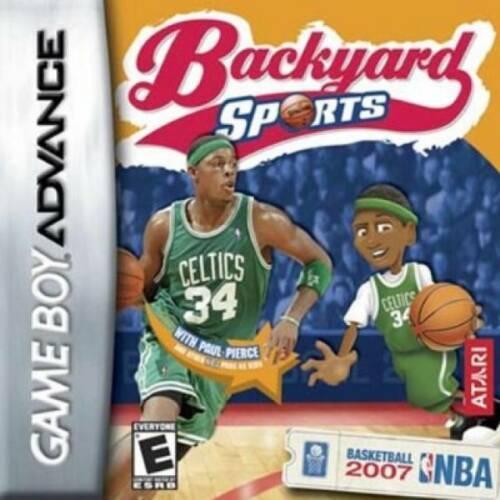Nintendo Game Boy Advance Cartridge Backyard Basketball 2007  NEW