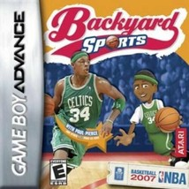 Nintendo Game Boy Advance Cartridge Backyard Basketball 2007  NEW - $12.00