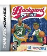 Nintendo Game Boy Advance Cartridge Backyard Basketball 2007  NEW - $12.00