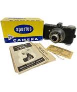 Spartus 35F Model 400 Vintage 35mm Film Camera W/ F6.3 Achromat Lens wit... - $68.31