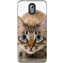 Blue eyed cat Nokia 3.1 2018 Phone Case - $15.99
