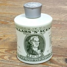 Vtg Avon Empty Glass Bottle Decanter Dollars N Scent After Shave Money $... - $20.73