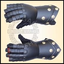 Medieval Gauntlets Functional Knight Mitten Gloves Re-enactment Larp Sca... - $83.99
