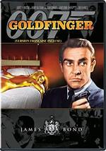 Goldfinger 007 James Bond DVD