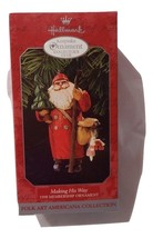 1998 Hallmark Keepsake Ornament Making his way Membership Decoration KOCC - $2.99