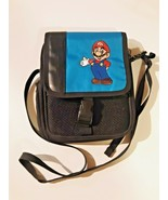 Super Mario Nintendo DS Travel Bag Shoulder Carrying Case and Storage Bl... - $16.82