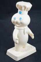 "Official 7"" Poppin' Fresh Doll Pillsbury Dough Boy With Stand Vintage 1971 - $14.03"