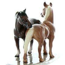 Hagen Renaker Specialty Horse Best Friends Grooming Ceramic Figurine image 11