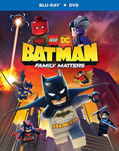 LEGO DC: Batman: Family Matters (Blu-ray + DVD, 2019)