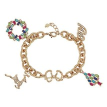 Avon Festive Charm Bracelet - $16.83