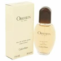 Cologne OBSESSION by Calvin Klein 1 oz Eau De Toilette Spray for Men - $22.93
