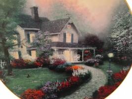Vintage Plate Thomas Kinkade Home Sweet Home Is Where The Heart Is 1992 ... - $14.01