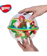 BOHS 100 Steps Small Big Size 3D Labyrinth Magic Rolling Globe Ball Marb... - $22.24