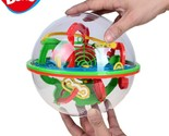 Eps small big size 3d labyrinth magic rolling globe ball marble puzzle cubes brain thumb155 crop