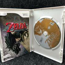 The Legend Of Zelda: Twilight Princess Nintendo Wii, Complete CIB Game image 3