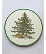 2 Spode Christmas Tree Hot Plates  - $24.99
