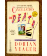 CANCELLATION BY DEATH - Dorian Yeager's Victoria Bowering mystery Very g... - $2.96