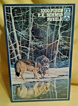 "F X Schmid "" Companions "" Jigsaw Puzzle 1000 Pc.  - $12.82"