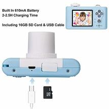 Abdtech Kids Camera Toy Gifts for Boys Age 3-6 Year olds, Compact Children Camer image 4
