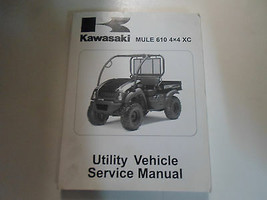 2010 Kawasaki Mule 610 4x4 XC Utility Vehicle Service Repair Manual FACT... - $143.50