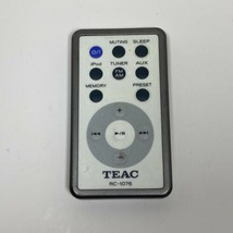 Teac RC-1076 Remote Control from Teac GR10i  Table iPod Radio - Tested OEM - $22.72