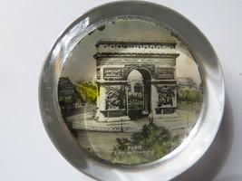 Vtg original Paris L Arc de Triomphe famous ancient building arch paperw... - $42.75