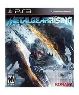 Metal Gear Rising: Revengeance (Sony PlayStation 3, 2013)M - $6.69