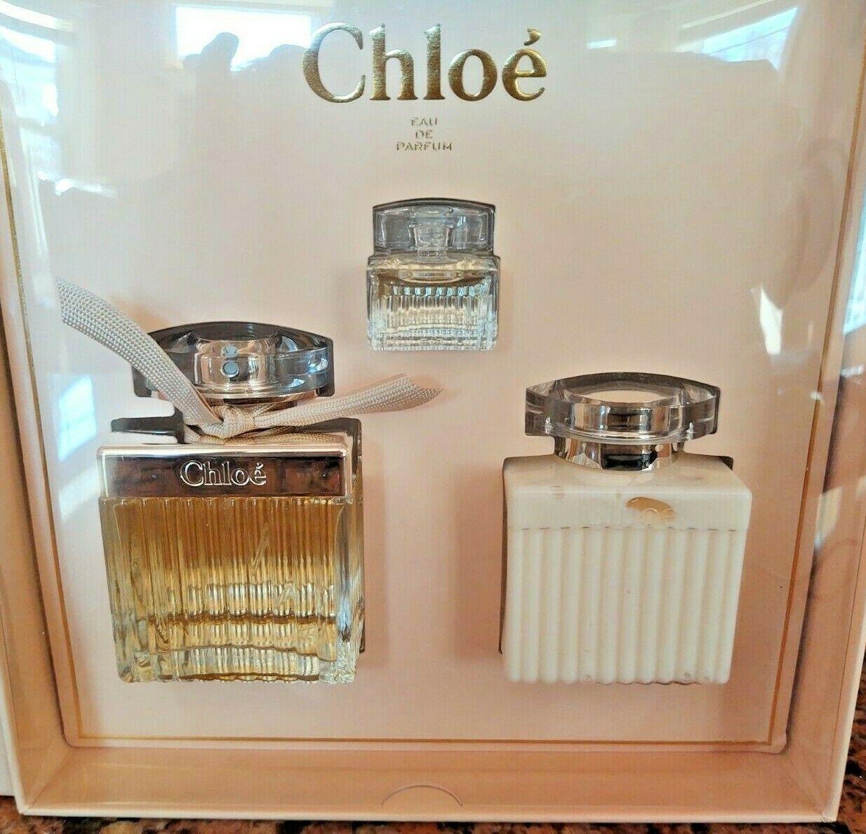 Aaaaaaaaachloe by chloe perfume set