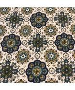 Vintage Waverly Bonded Fabric Easthampton Geometric Shapes 971631 49 X 1... - $62.12