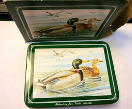 Mallards Metal Box Double Deck Playing Cards image 3