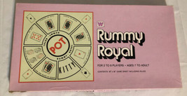 Rummy Royal Board Game Whitman No. 4713 1976. Game Sheet With Rules. - $19.24