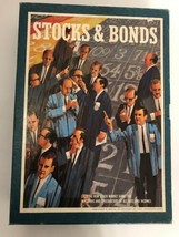 Vintage Stocks and Bonds Board Game Bookshelf Game 1964 By 3m Company Complete - $27.67