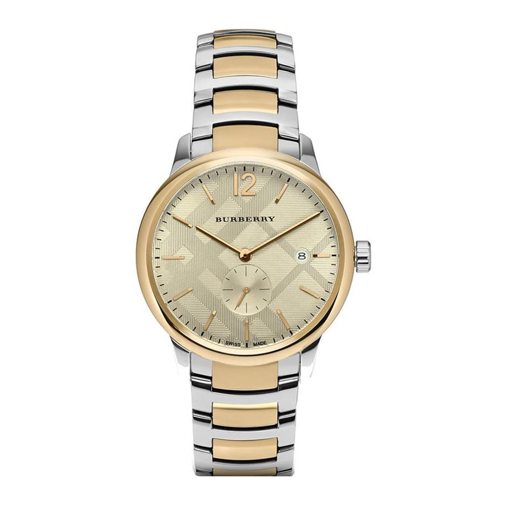 Primary image for Burberry BU10011 The Classic Round Two Tone Bracelet Watch 40 mm - Warranty