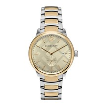 Burberry BU10011 The Classic Round Two Tone Bracelet Watch 40 mm - Warranty - $425.00