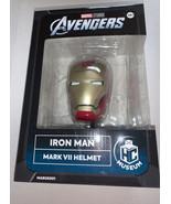 Eaglemoss Marvel Avengers Iron Man Mark VII Helmet Replica Brand New In ... - $38.79