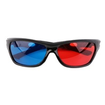 24 Pack - New Anaglyph Red + Blue Cyan 3D Glasses Movie Game DVD Video   - €36,58 EUR