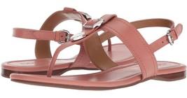 coach cassidy melon leather sandals - $92.00