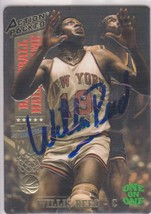 Willis Reed Signed Autographed 1993 Action Packed Basketball Card - NY K... - $29.99
