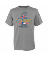 Chicago Cubs Youth Locker Room World Series T-Shirt - Gray - $5.95