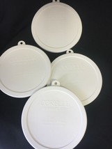4x  Corelle Storage Lid Covers for 18oz Soup/Cereal Bowl  418-pc - $11.88